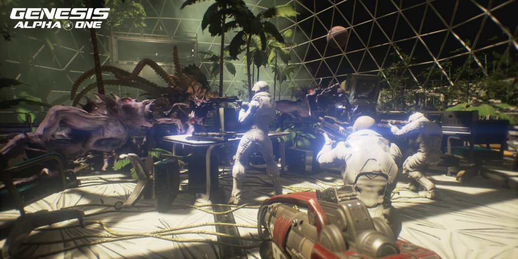 Lifeform attack in greenhouse