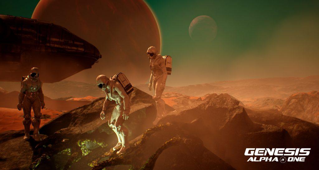 Planet surface exploring